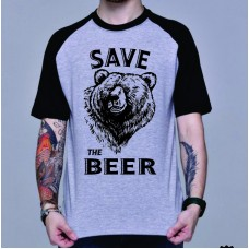 CAMISETA SAVE THE BEER